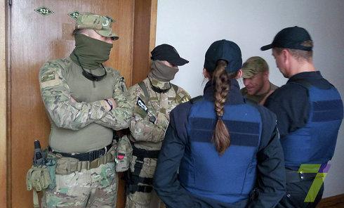 Обыск в офисе соратника Саакашвили