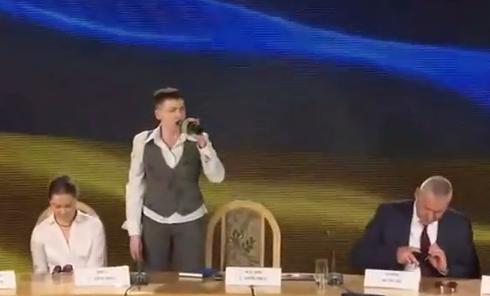 Пресс-конференция Савченко: прямая трансляция