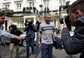Жозе Моуринью покидает свой дом в Лондоне