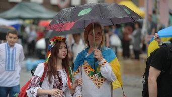 Марш вышиванок в День Киева