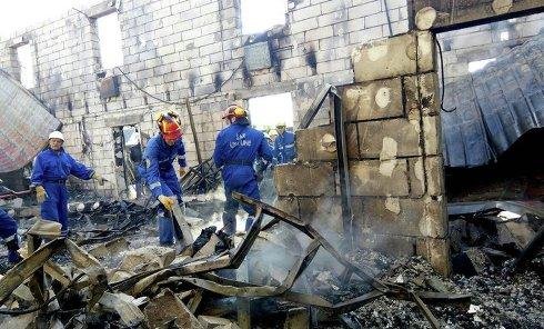 Пожар в доме престарелых в Киевской области