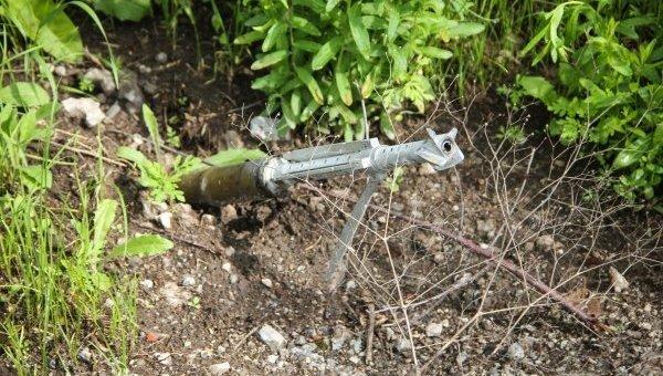 Обстрелы в промзоне Авдеевки
