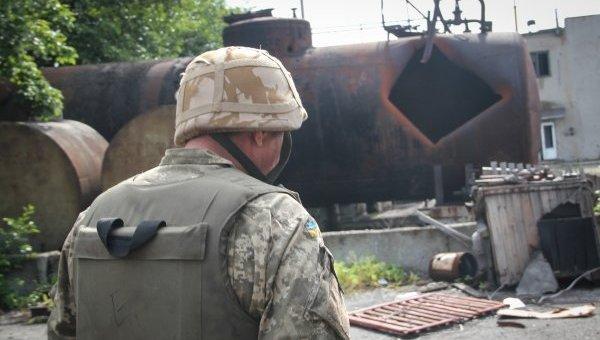 Обстрелы в промзоне Авдеевки. Архивное фото