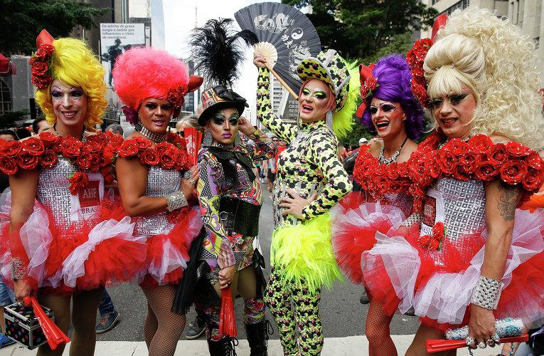 Сан-Паулу: крупнейший в мире гей-парад