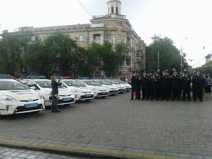 Запуск патрульной полиции в Мариуполе