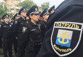 Патрульная полиция в Мариуполе