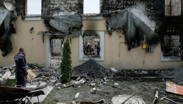Дом престарелых под киевом сгорел дома для престарелых в гродно