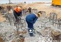 Строительство Крымского моста: тысяча свай в основании. Видео