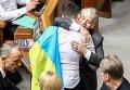 Надежда Савченко и Мустафа Джемилев