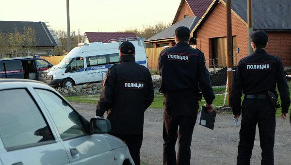 Сотрудники правоохранительных органов в России. Архивное фото