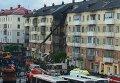 Обрушение дома в российском Междуреченске