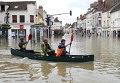 Последствия дождей во Франции