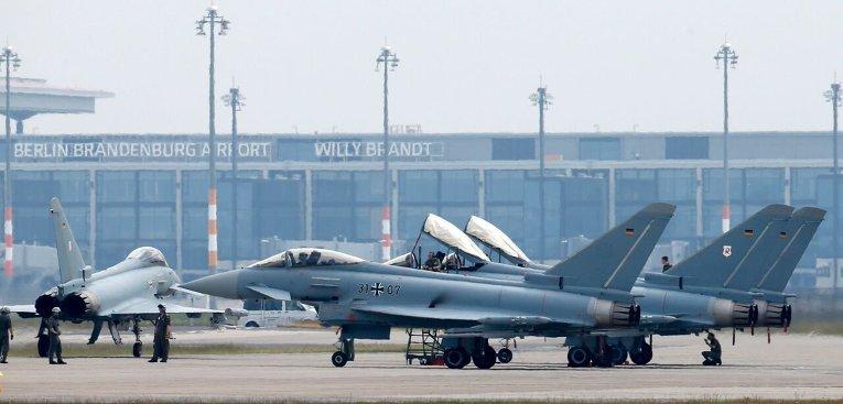 Немецкие боевые самолеты Eurofighter