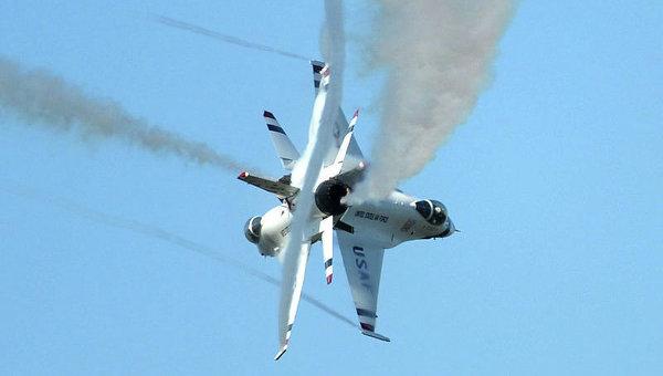 ВСША разбился военный самолет