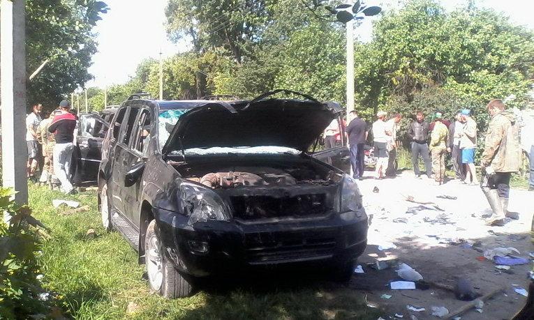 На месте конфликта в Житомирской области