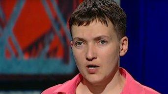 Савченко объяснила, почему не взяла цветы у Тимошенко в Борисполе. Видео