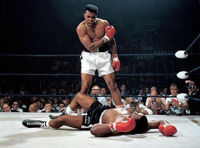 Легендарный американский боксёр Мохаммед Али