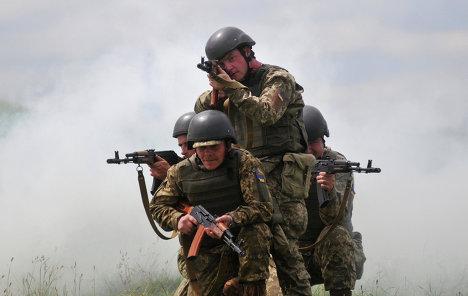 Военные учения. Архивное фото