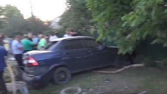 На месте ДТП в Василькове, из-за которого погибли дети. Видео
