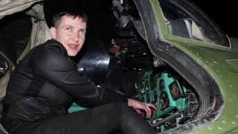 Надежда Савченко в зоне АТО