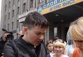 Савченко в Славянске пообещала добиваться выплат переселенцам. Видео