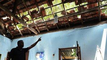 Взрыв на складе боеприпасов в Шри-Ланке