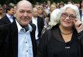 Алексей Жарков и Лидия Федосеева-Шукшина. Архивное фото