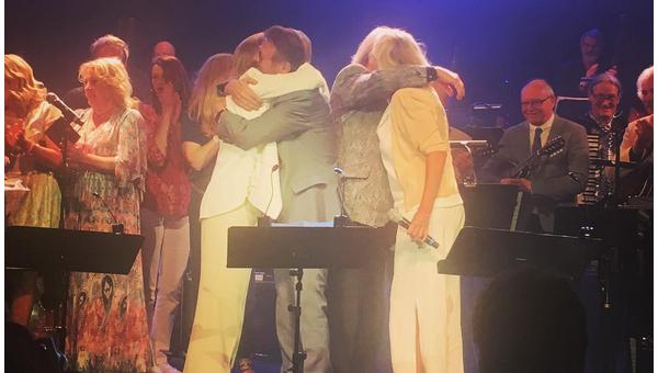 Легендарная ABBA впервые за 30 лет в полном составе
