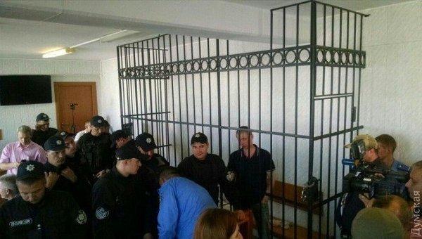 Дело 2 мая: активисты заблокировали суд в Одессе. Архивное фото