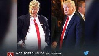 Мэрил Стрип спародировала Дональда Трампа. Видео