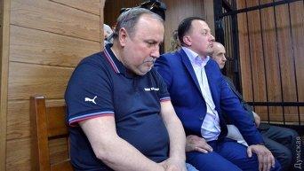 Николай Романчук на суде