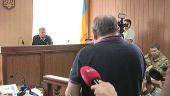 Николай Романчук дал показания в одесском суде