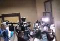 Романчука вывели из зала суда в наручниках
