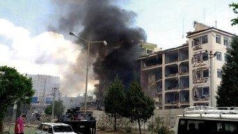 В Турецком городе Мидьят прогремел взрыв
