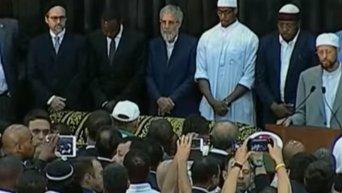 В США прощаются с Мохаммедом Али. Видео