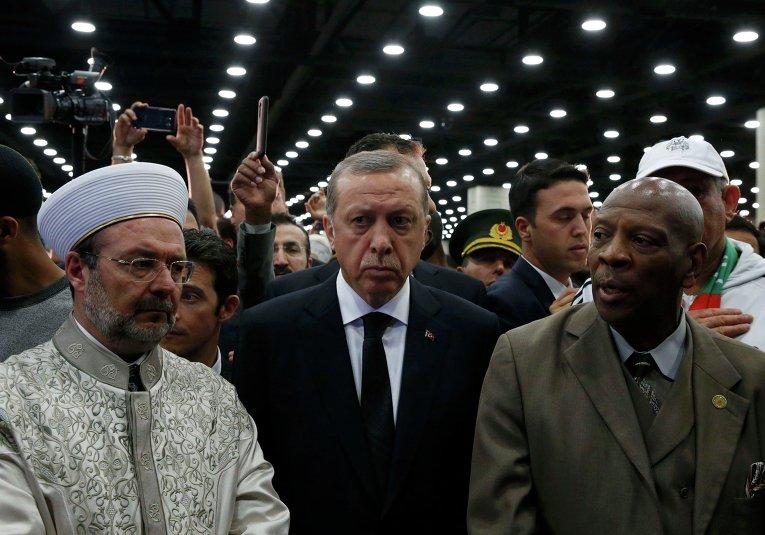 Церемония прощания с Мохаммедом Али