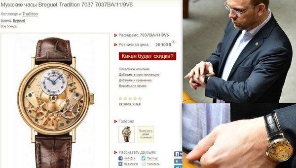 Часы Сергея Власенко