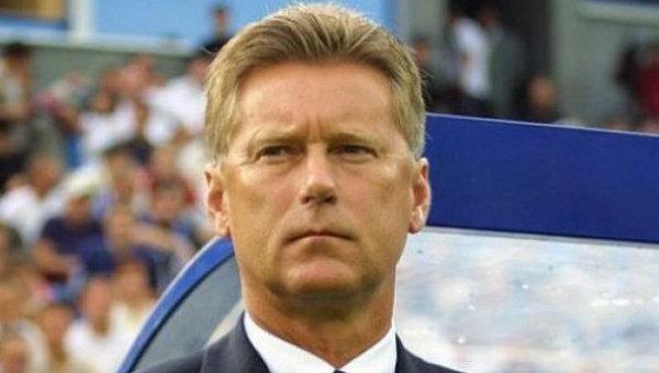 Экс-тренер сборной Украины по футболу Леонид Буряк