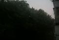 Ночь и град средь бела дня в Киеве. Видео