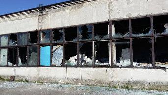 Разрушения в Торецке