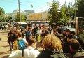 Первое задержание на ЛГБТ-марше в Киеве
