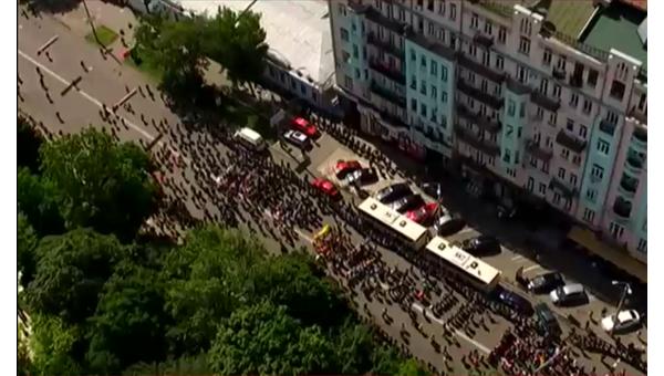 Марш ЛГБТ в Киеве