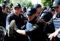 Задержание на ЛГБТ-марше в Киеве