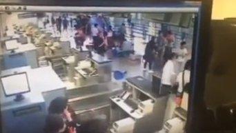 Взрыв в Шанхае. Видео