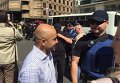 Нардеп Мустафа Найем и начальник департамента патрульной полиции Киева