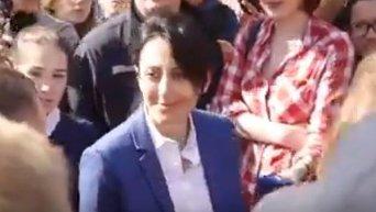 Задержание противника ЛГБТ-марша в Киеве. Видео