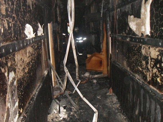 Ночью в Соломенском районном суде Киева произошел пожар