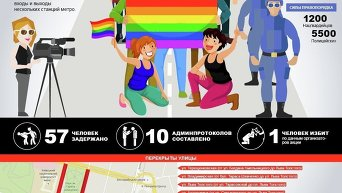 Марш равенства в Киеве. Инфографика