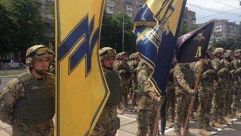 Батальон Азов в Мариуполе