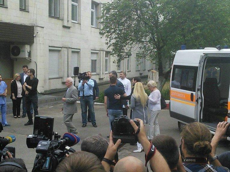 Встреча Юрия Солошенко и Геннадия Афанасьева с Петром Порошенко